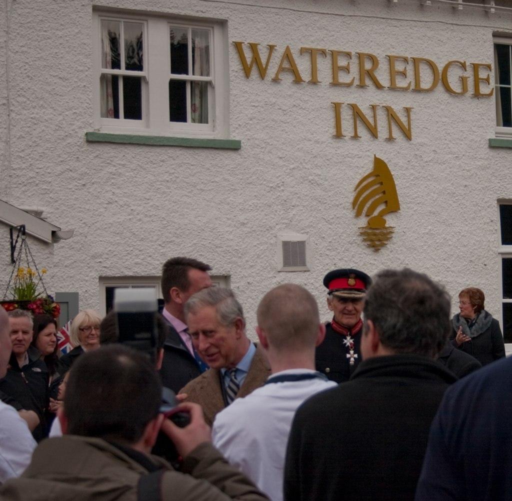 Wateredge Inn Food Menu
