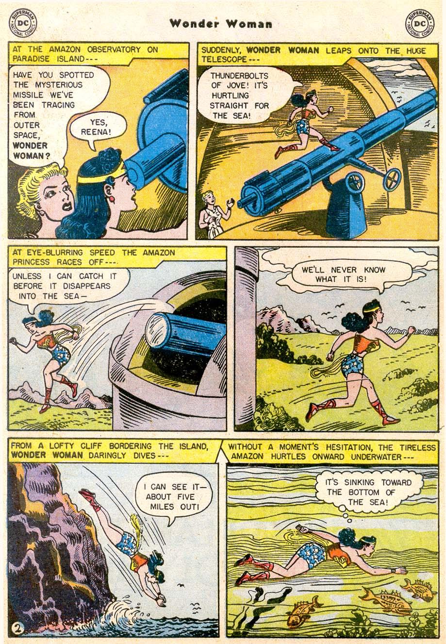 Read online Wonder Woman (1942) comic -  Issue #91 - 4