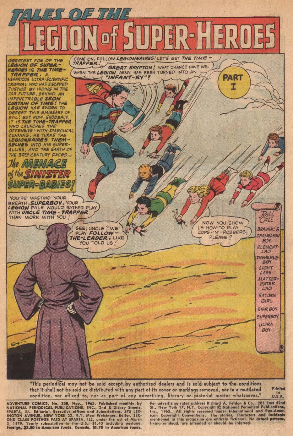 Read online Adventure Comics (1938) comic -  Issue #338 - 3