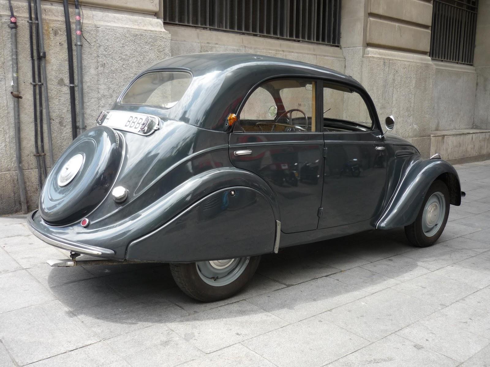 Amazing Vehicles For Rent: Peugeot 202 (1948