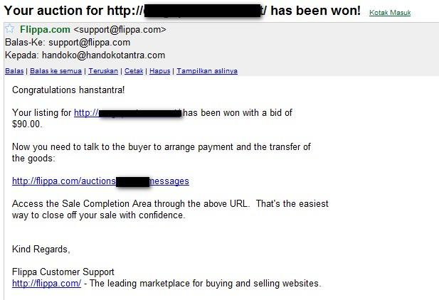Flippa Email