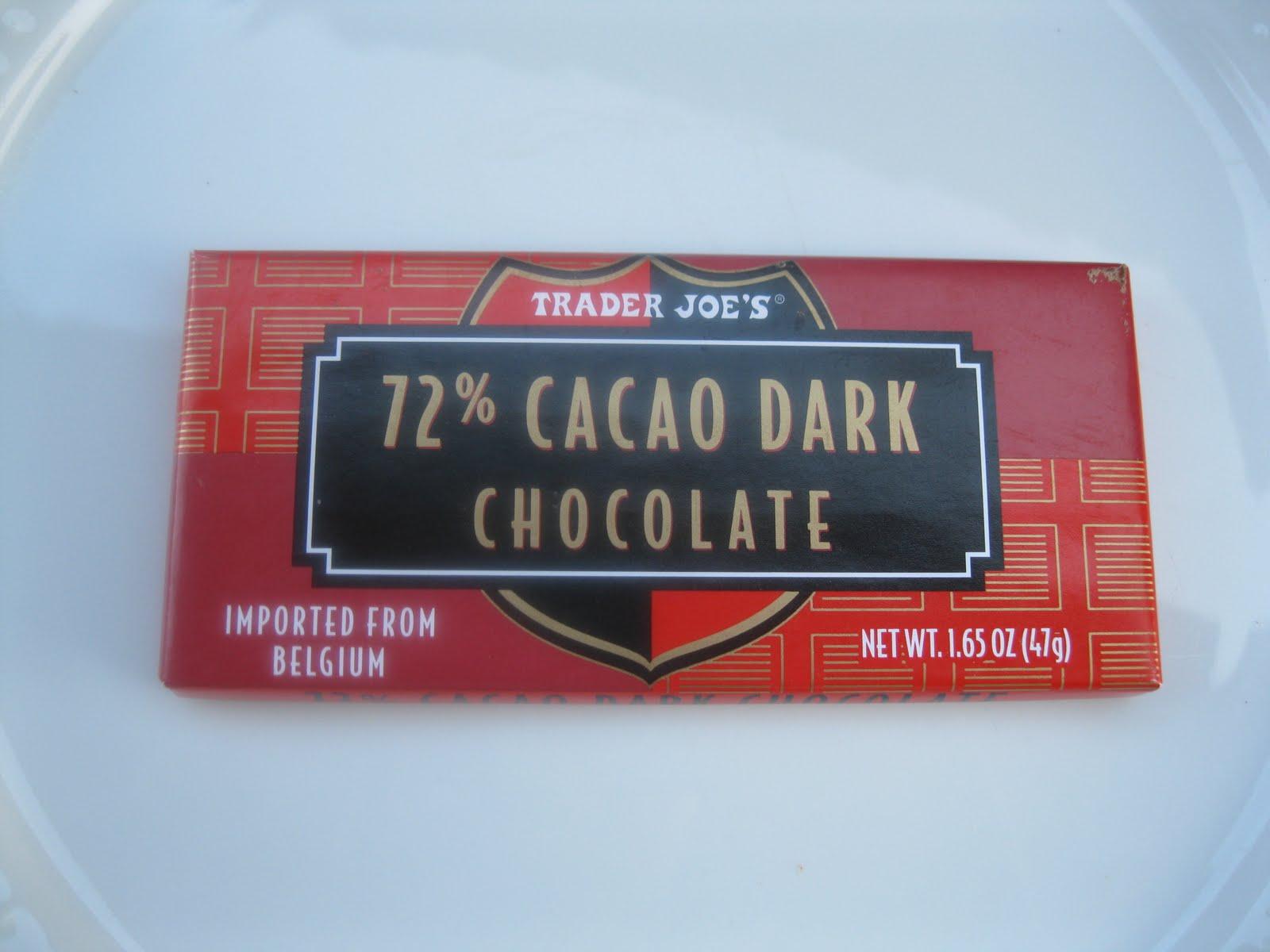 The District Chocoholic: Trader Joe's 72% Cocoa Dark