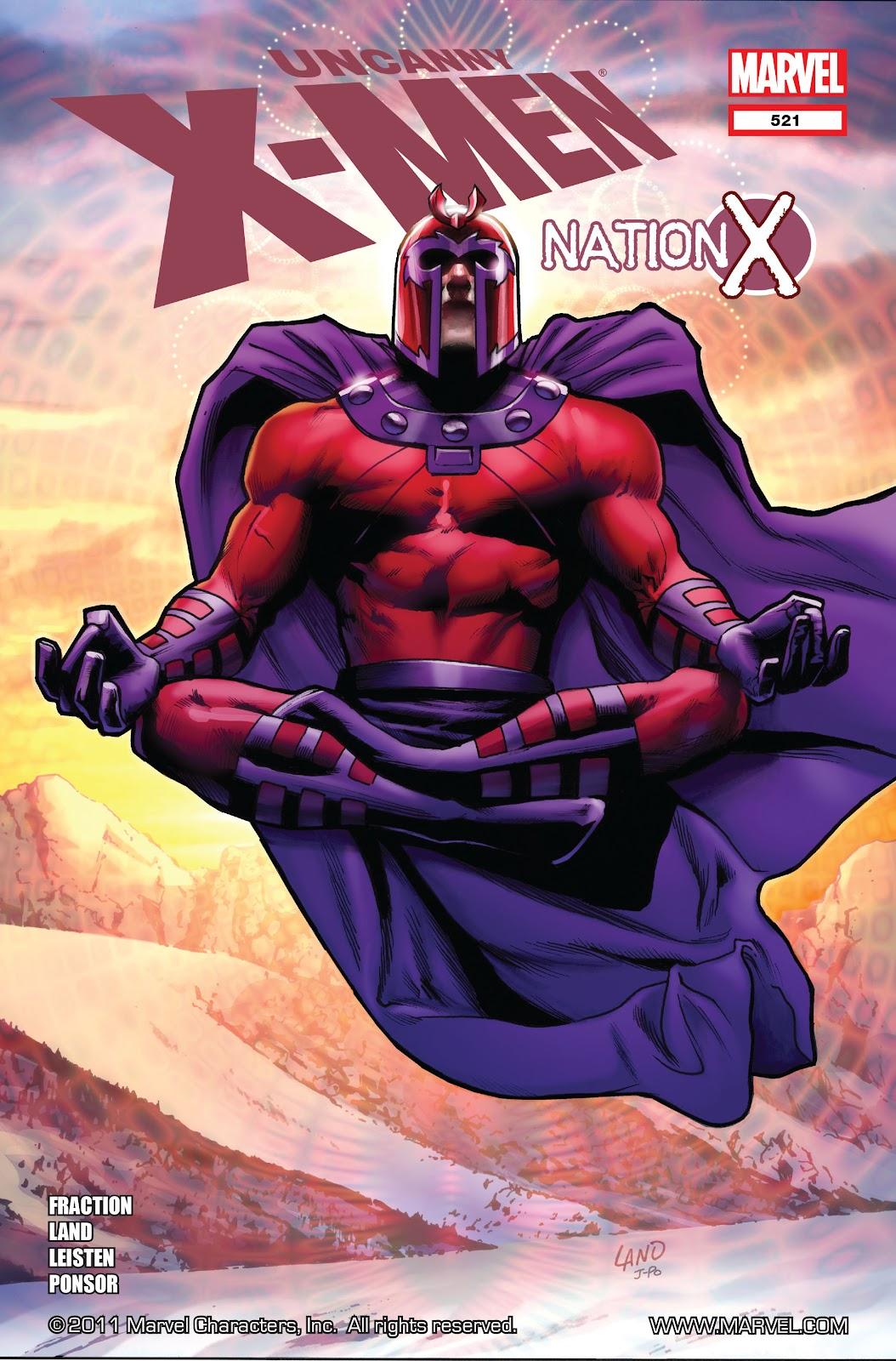 Uncanny X-Men (1963) 521 Page 1