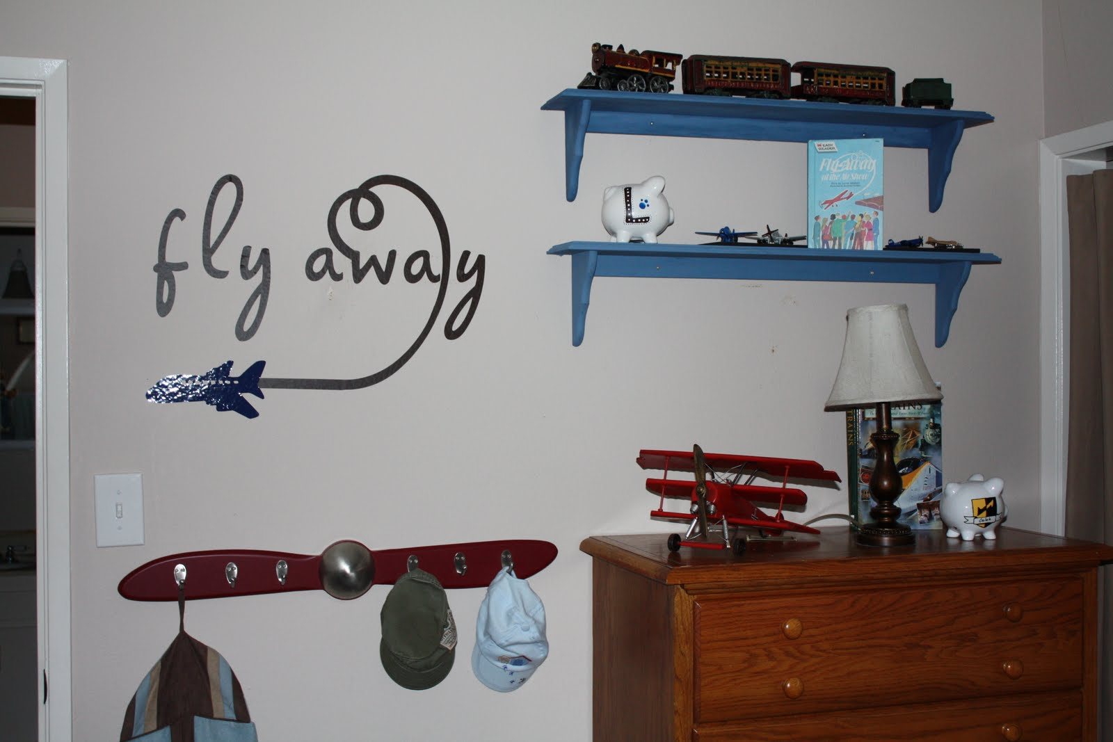 Cynde's Place: Airplane Bedroom