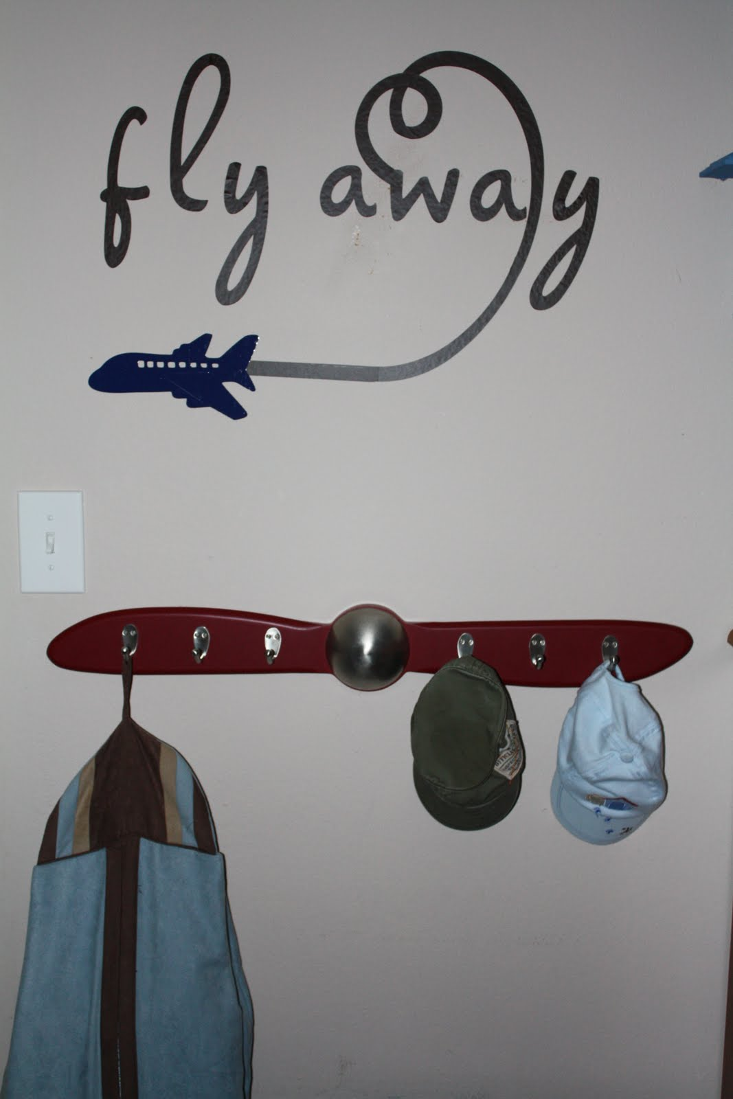 Airplane Bedroom Decor: Cynde's Place: Airplane Bedroom