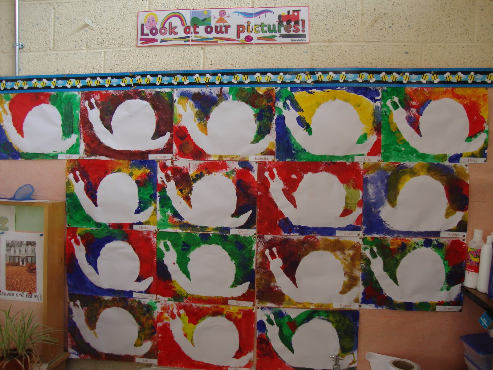 Art Music And Drama Page Art In September Junior Infants
