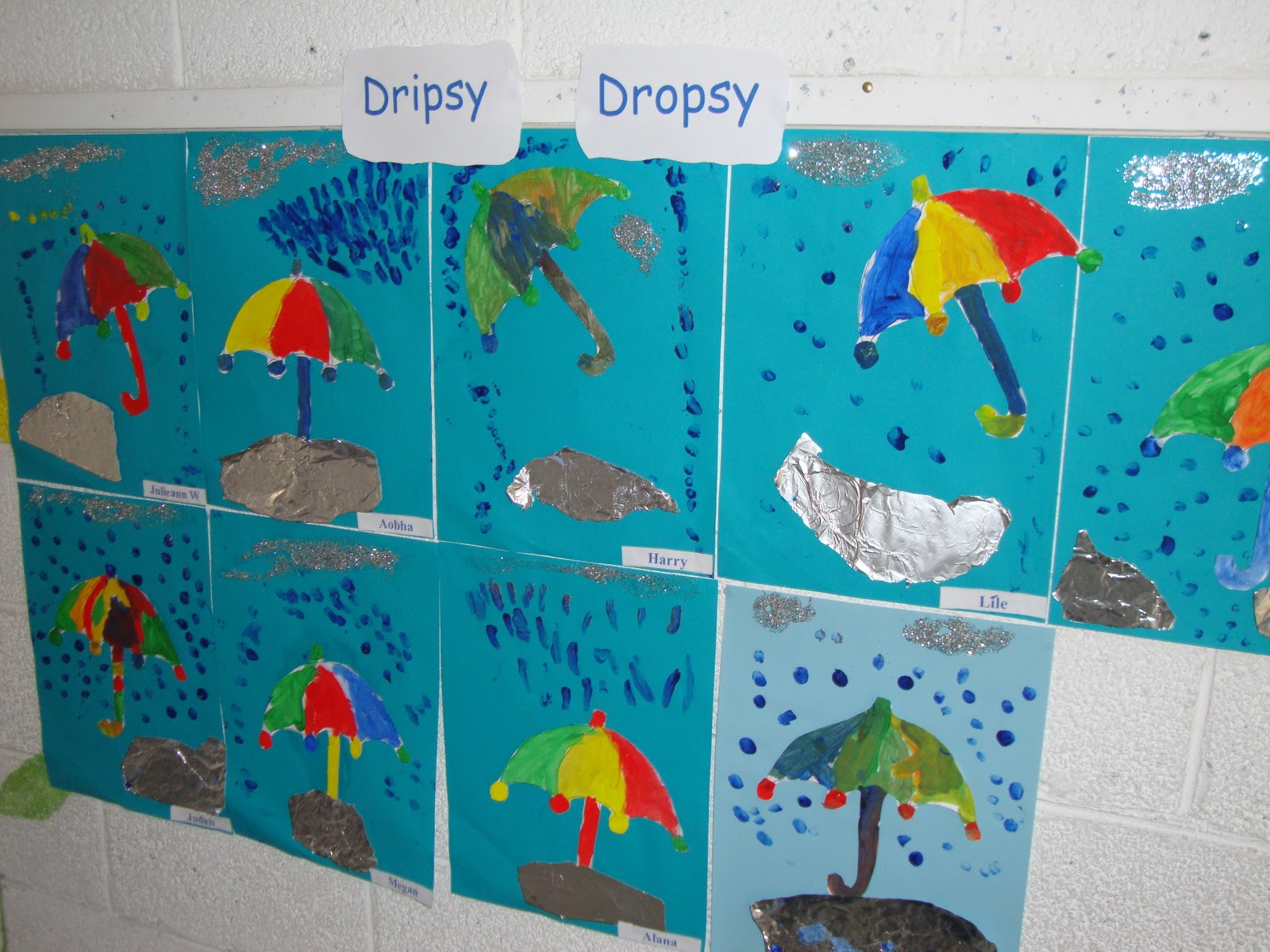 Science Projects Raindrops Junior Infants