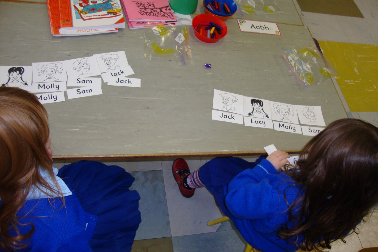 Literacy Site Matching Words Junior Infants