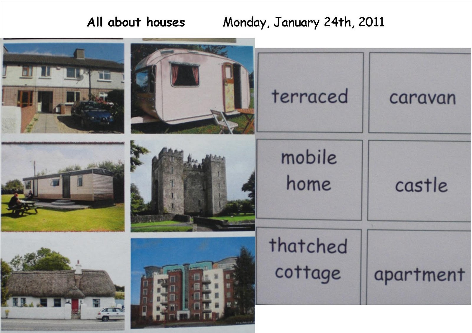 History geography and sphe site looking at houses senior for Kinds of houses pictures