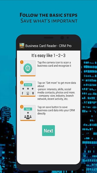 business-card-reader-crm-pro-screenshot-1