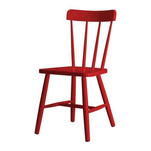 4bildcasa le 5 sedie rosse for Sedie cucina rosse