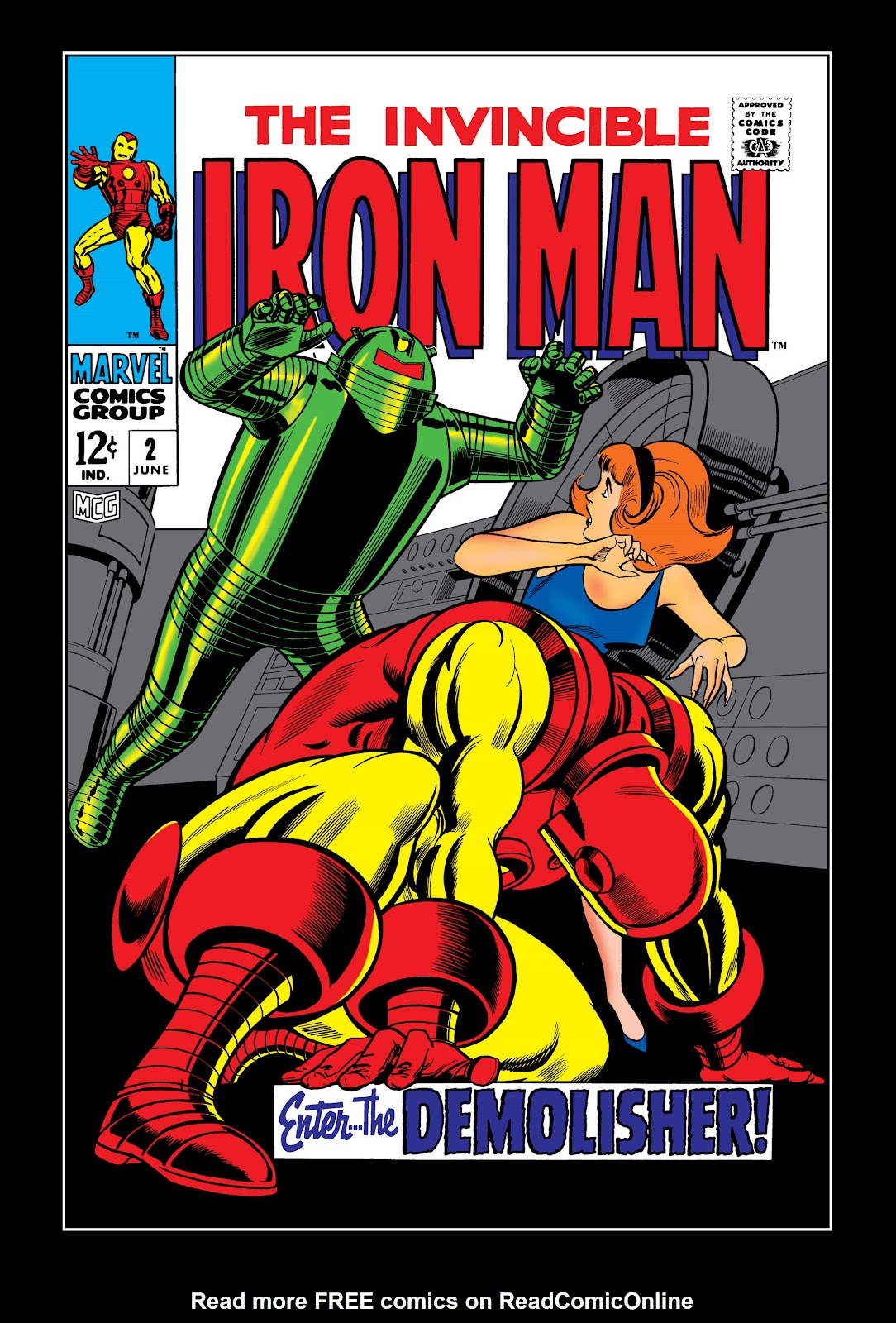 Read online Marvel Masterworks: The Invincible Iron Man comic -  Issue # TPB 5 (Part 1) - 7