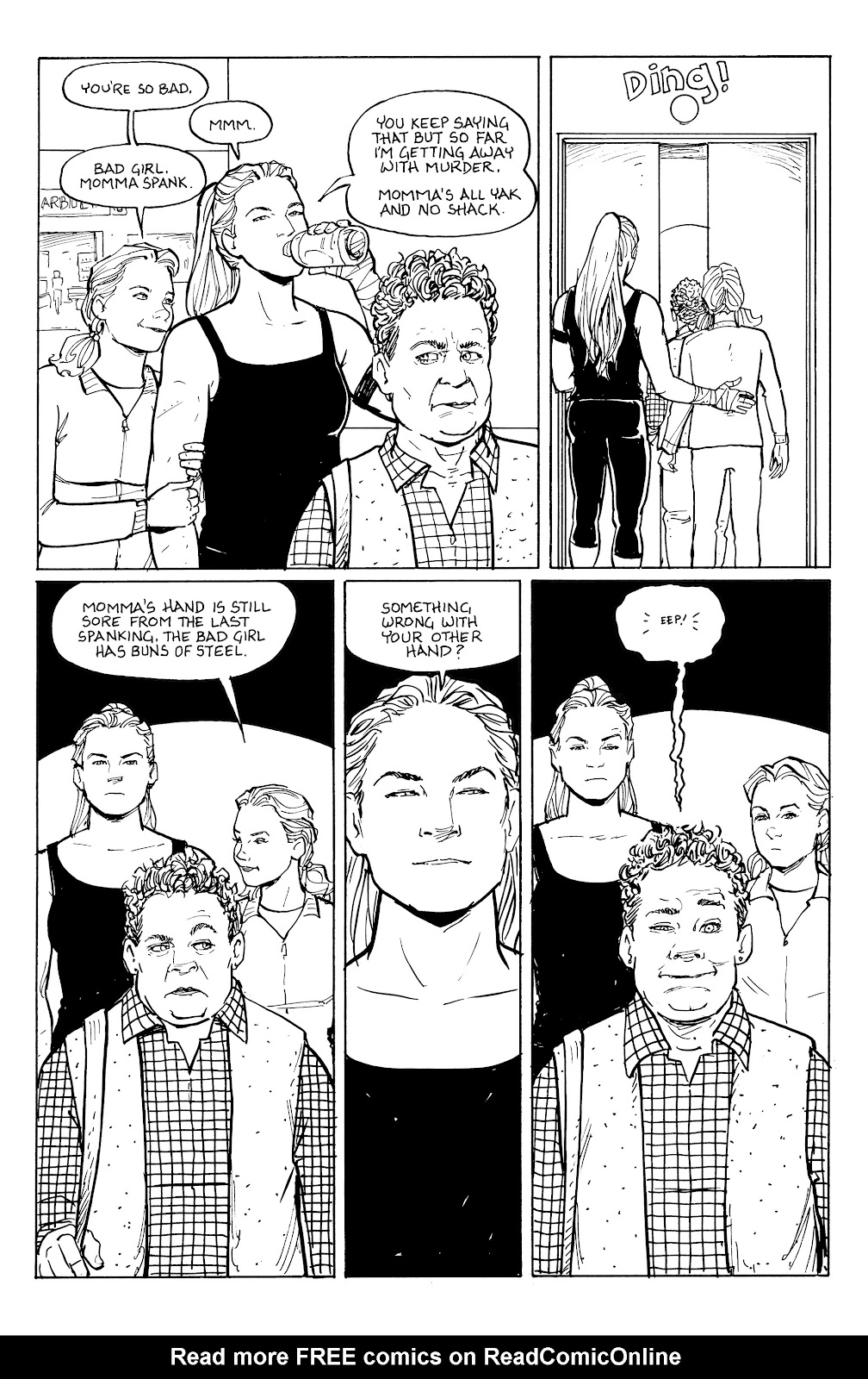 Read online Five Years comic -  Issue #6 - 18