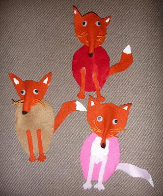 The Homeschool Den Fox Craft