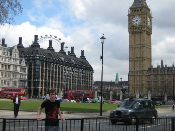 big ben screaming tshirt london