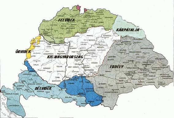 régi magyarország térkép aranyló: Nagymagyarország térkép, csodákat fogsz látni ! régi magyarország térkép