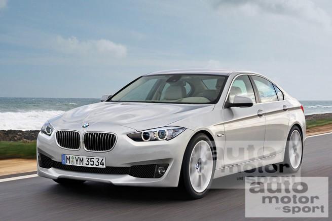 Renderings: 2012 F30 BMW 3 Series ~ Deutsh Power