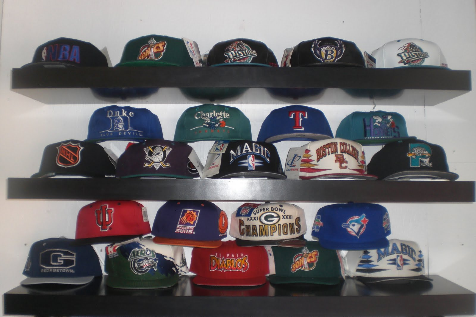 FLAT SPOT SKATE SHOP  VINTAGE SNAPBACK HATS FROM THE 80 S AND 90 S b17edbaddb6