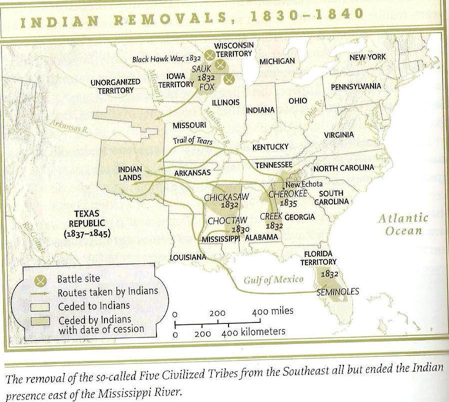 The indian removal act Essay Sample - September 2019 - 1625