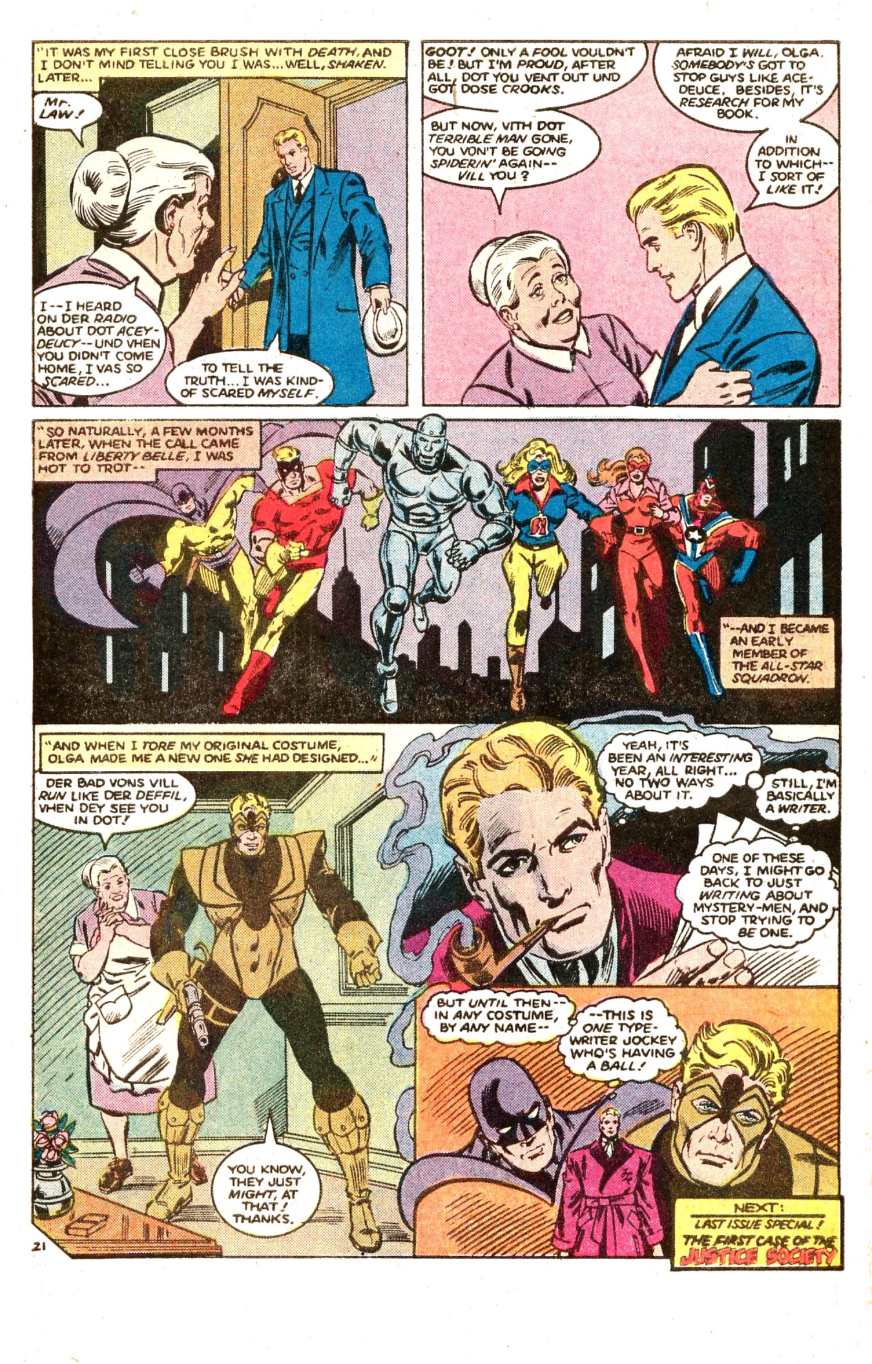 Read online All-Star Squadron comic -  Issue #66 - 31