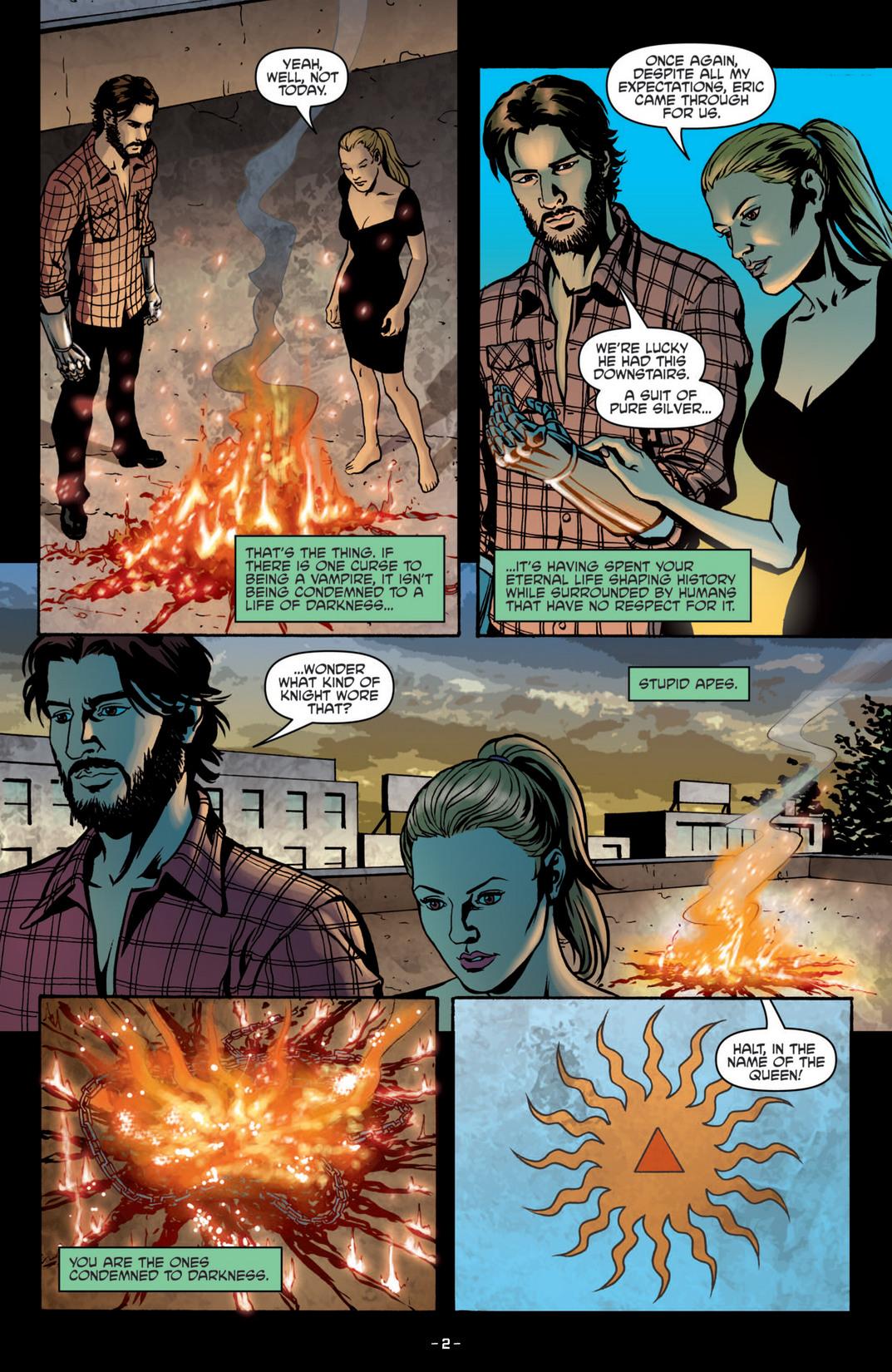 Read online True Blood (2012) comic -  Issue #5 - 5