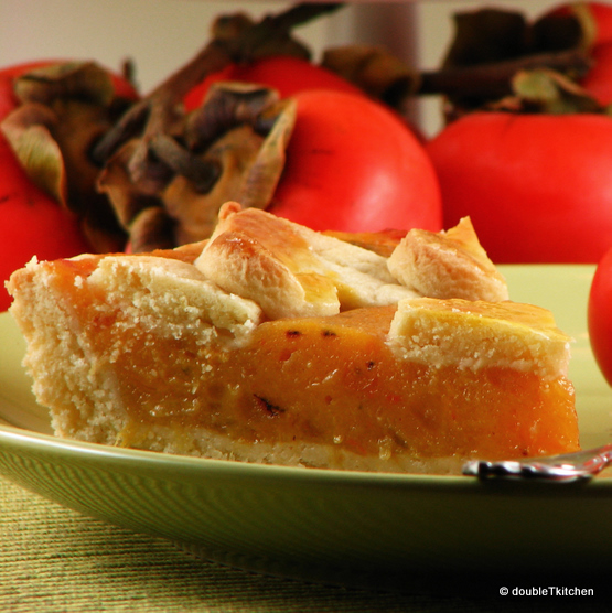 persimon crostata