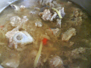 Chrisanakapai's steamed cincaluk pork