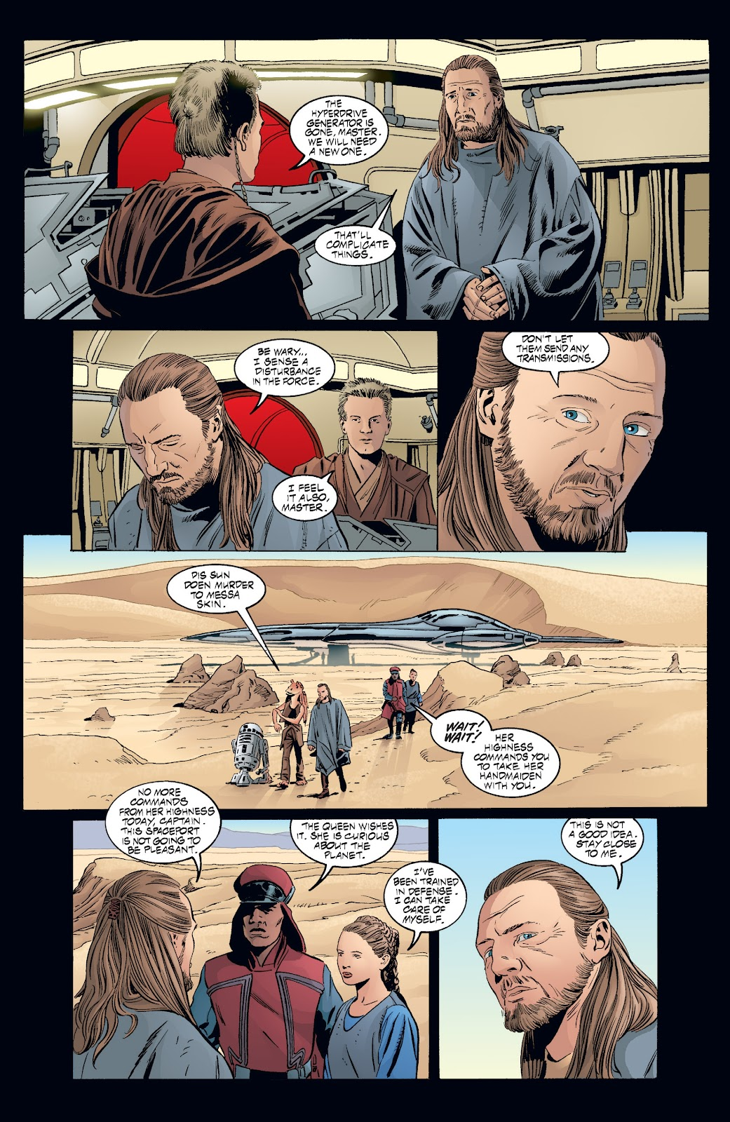 Read online Star Wars Legends: Rise of the Sith - Epic Collection comic -  Issue # TPB 2 (Part 3) - 66