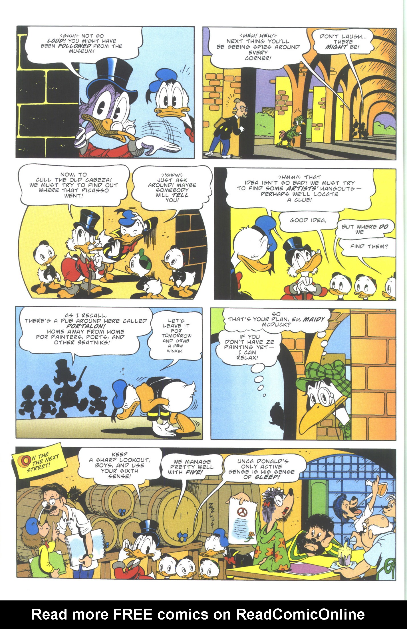 Read online Uncle Scrooge (1953) comic -  Issue #353 - 26