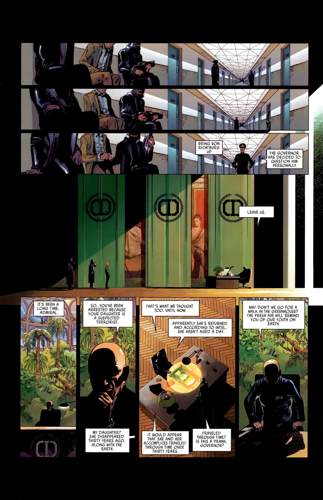 Read online Universal War One: Revelations comic -  Issue #3 - 16