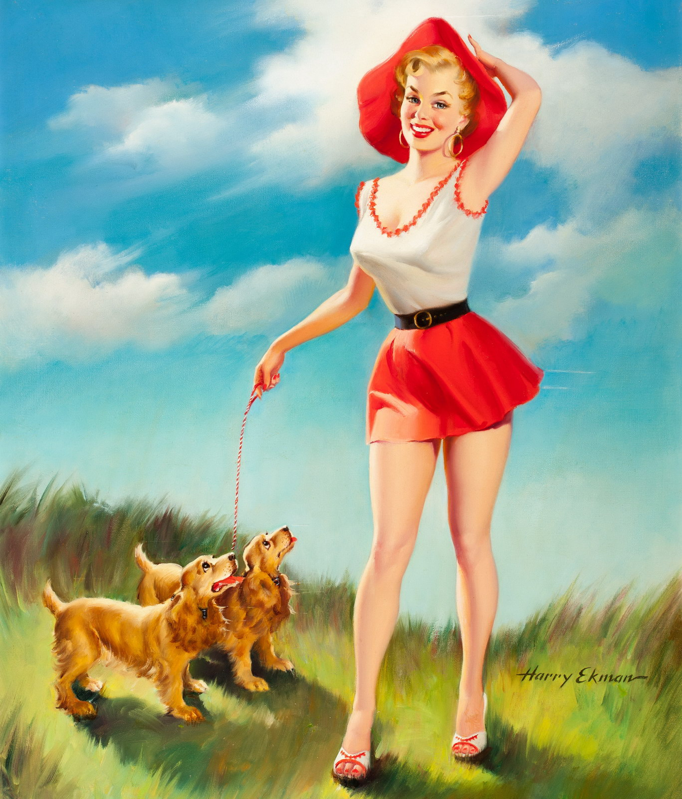 legends of pin up harry ekman pin up and cartoon girls. Black Bedroom Furniture Sets. Home Design Ideas