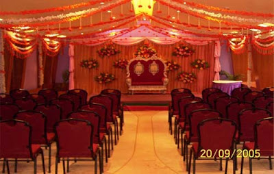 Pictures Reception Halls Decorated Tulle Wedding