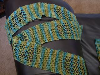 Leftover Scarflette Free Scarf Knitting Pattern