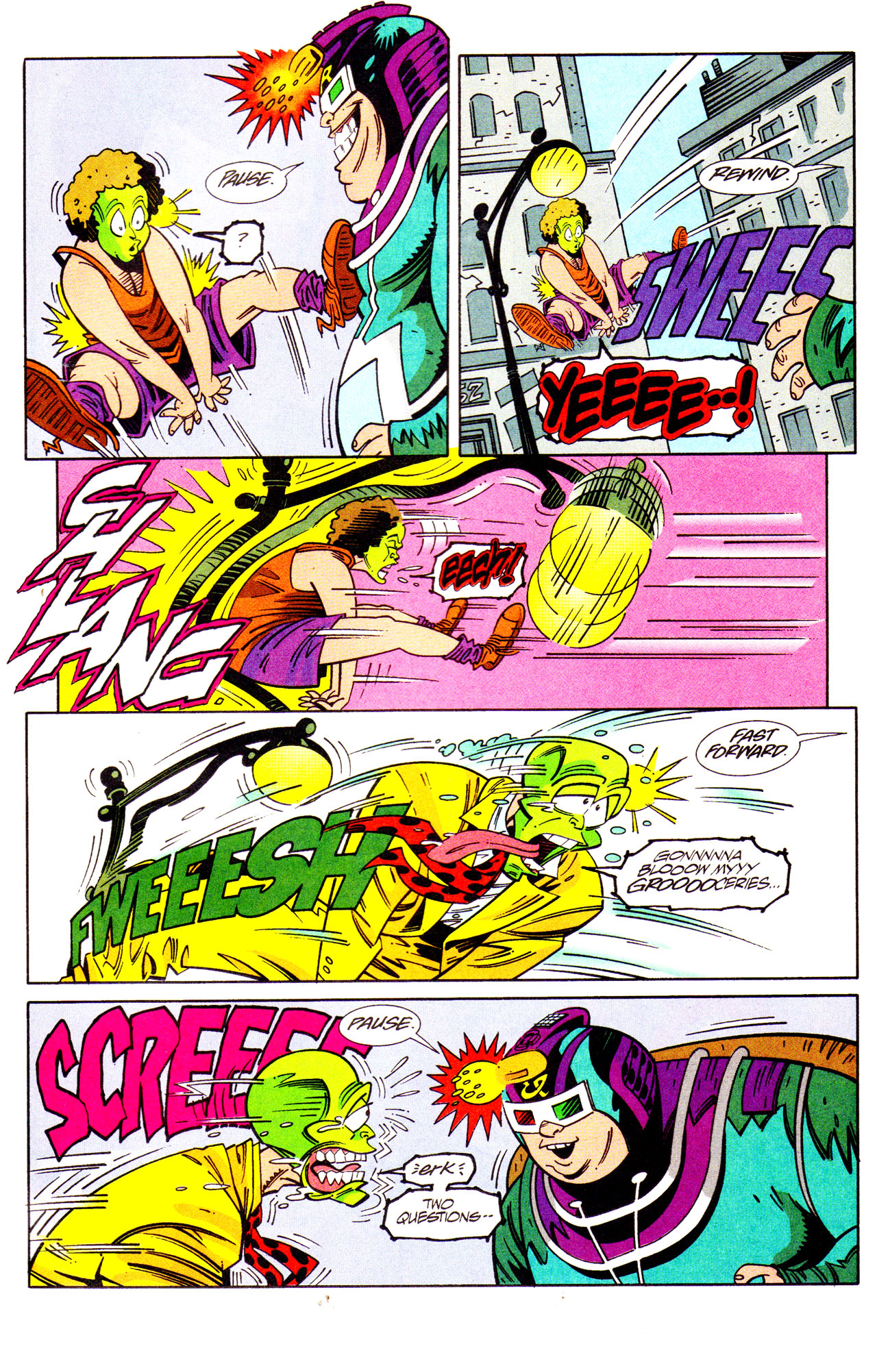 Read online Adventures Of The Mask comic -  Issue #7 - 15