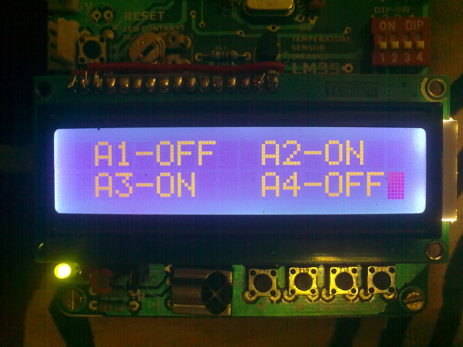 Remote Controlled Home Appliances Project Using Atmega8 Rc Buffer Circuit Design In Switching Power Supply Appliance Ic