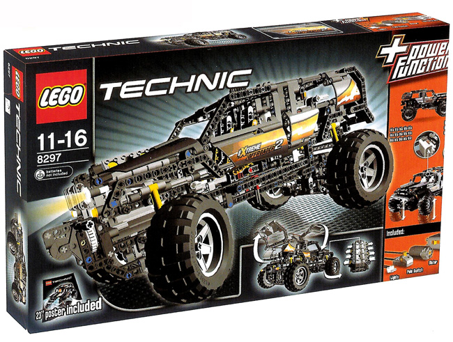 Technicbricks Video From New 8297 Off Roader At Toy Fair 2008