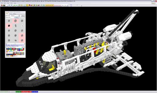 TechnicBRICKs: SR 3D Builder