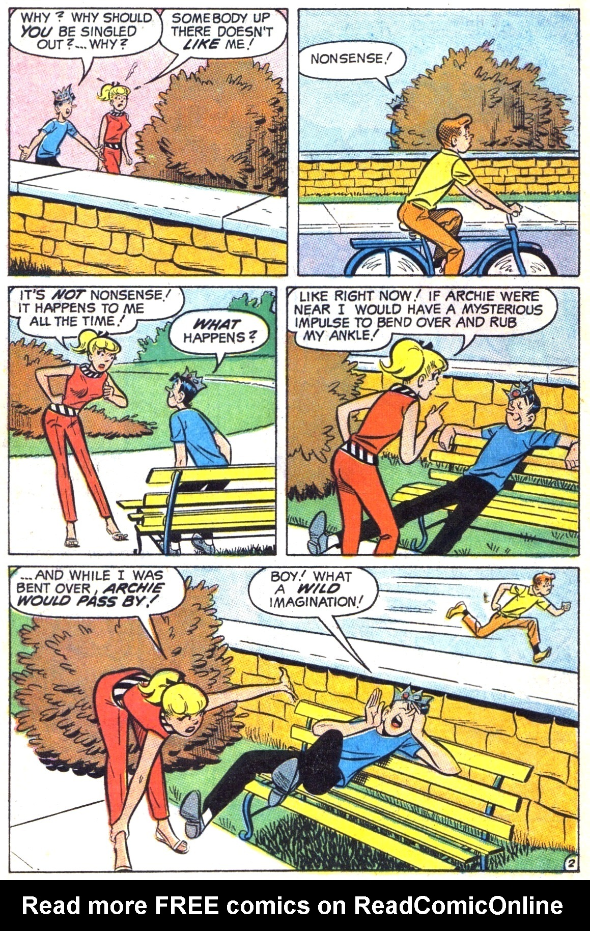 Read online Archie (1960) comic -  Issue #187 - 14