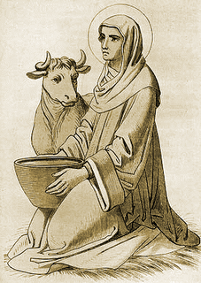 Image result for saint brigid and cows