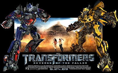 Transformers 2 Movie - Transformers Revenge of the Fallen with Shia Labeouf and Megan Fox