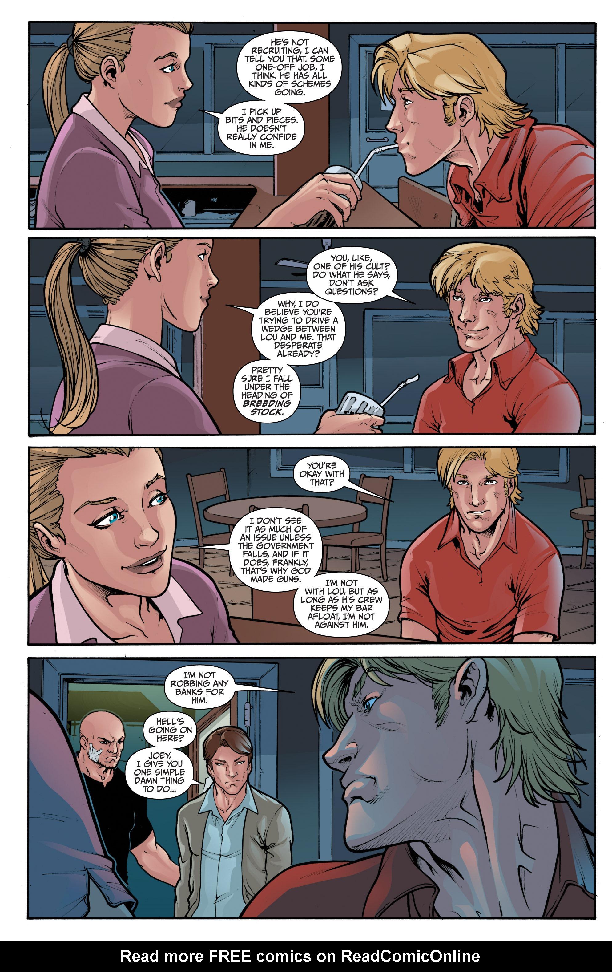 Read online 3 Guns comic -  Issue #1 - 7