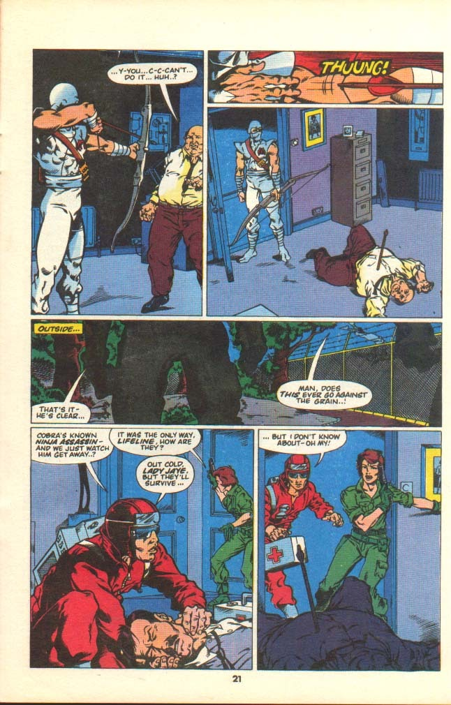 G.I. Joe European Missions issue 7 - Page 19