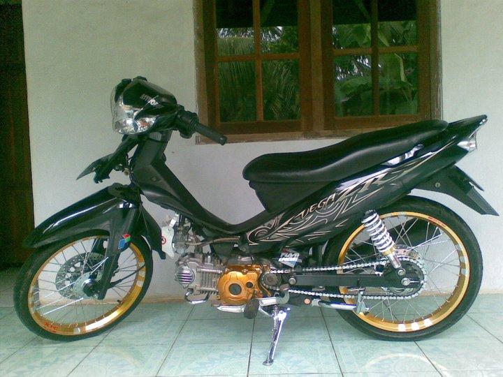 Modifikasi Warna Yamaha Vega Zr 2014
