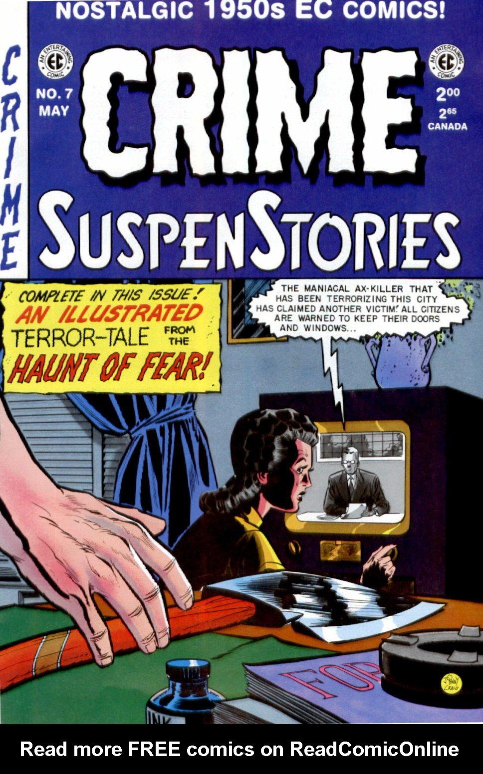 Crime SuspenStories 7 Page 1