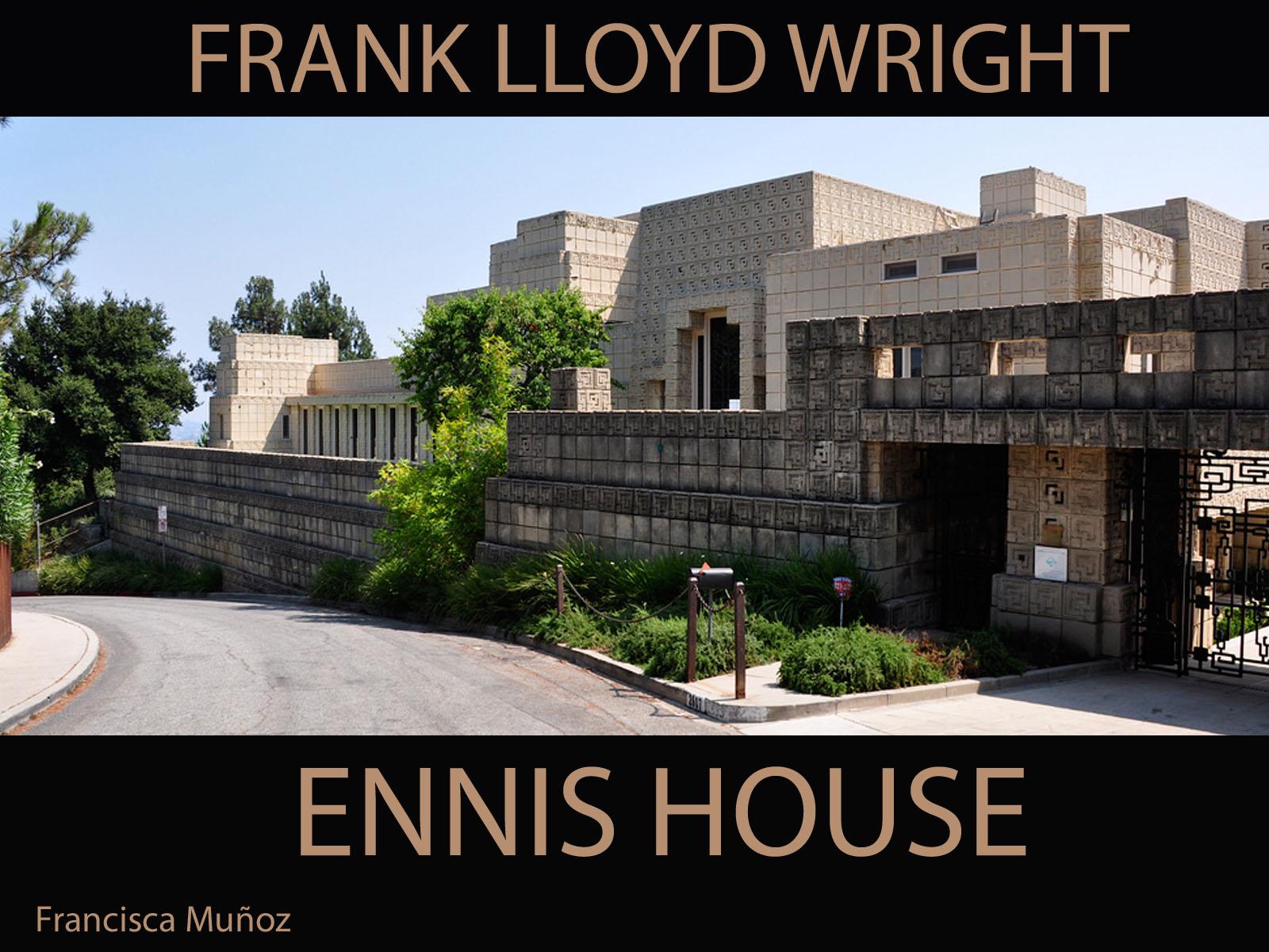 Taller Composicion Plastica UDD  seccion 4 Ennis House  Frank Lloyd Wright