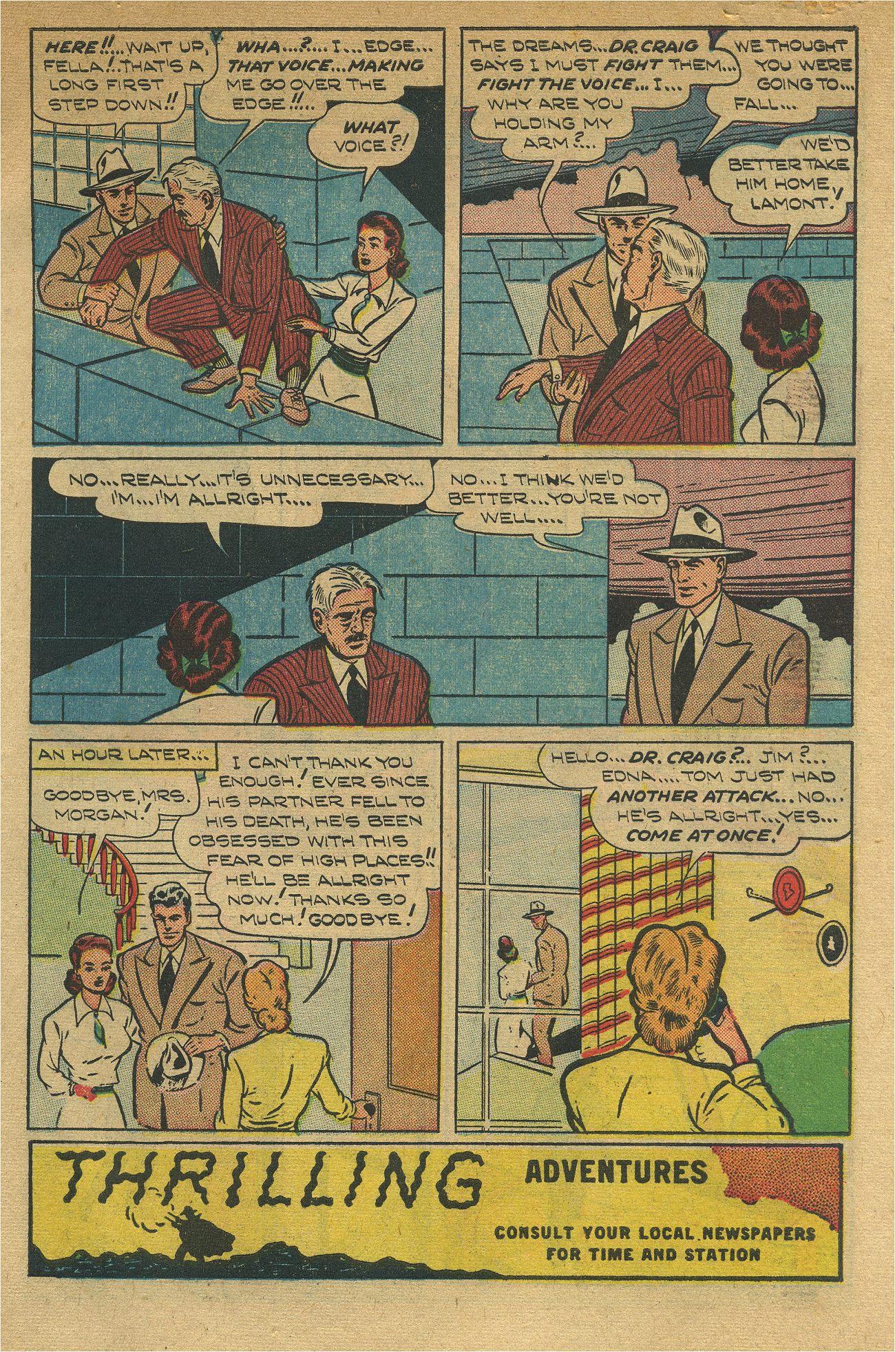 Read online Shadow Comics comic -  Issue #93 - 6