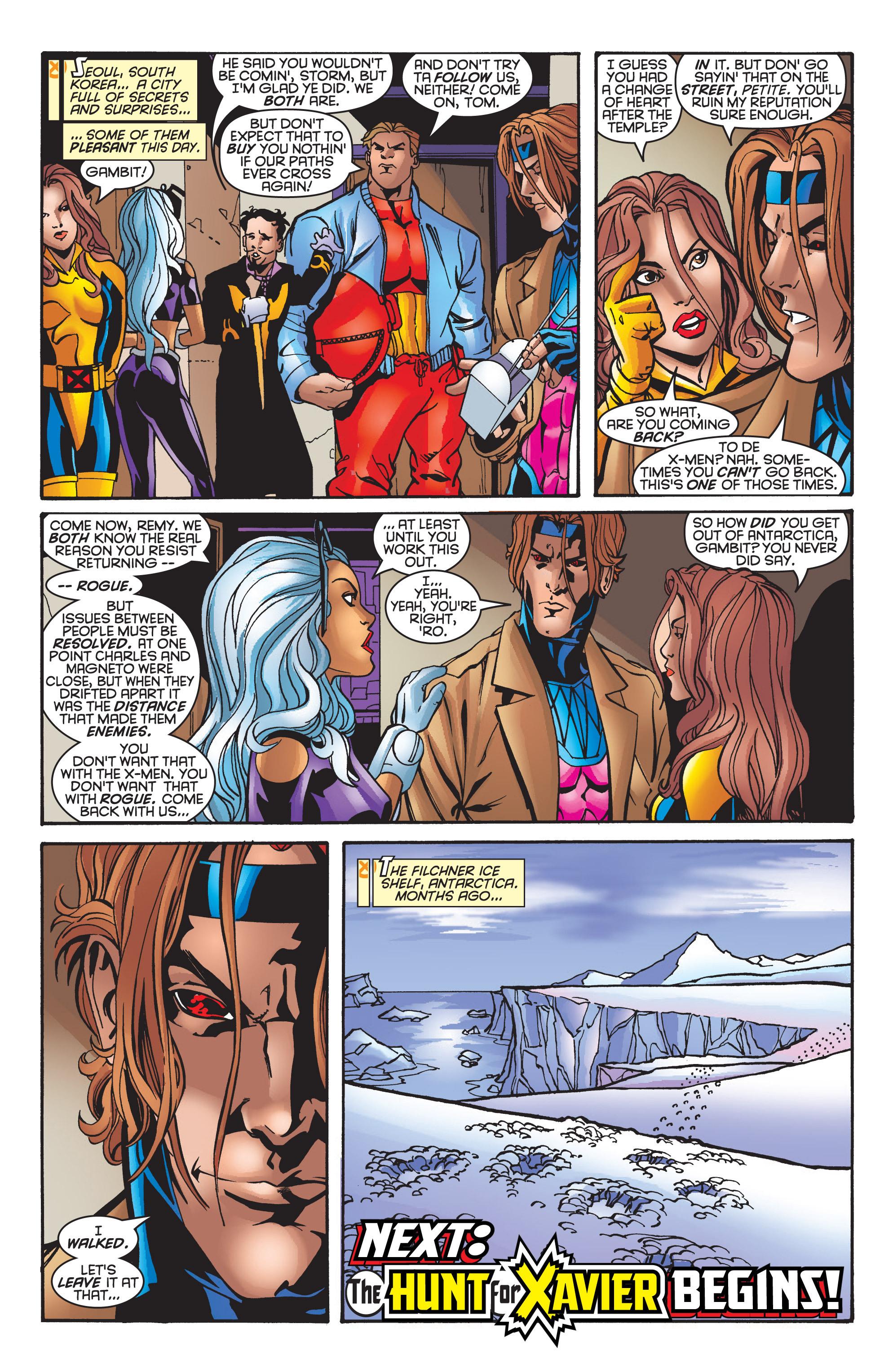 Read online Uncanny X-Men (1963) comic -  Issue #361 - 24
