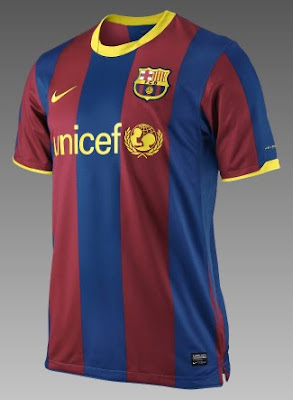 fbbf8eadf Soccer Jersey  BARCELONA Home Shirt 2010 2011