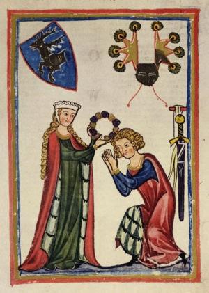 Edad Media: Un amor medieval: el amor cortés