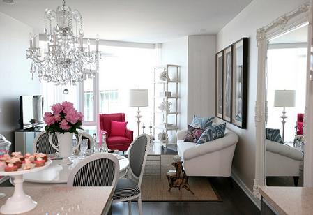 Gorgeously girly apartment